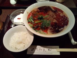 赤坂・中国料理「たけくま」